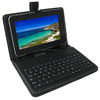 "9"" universal micro USB keyboard and leather case for 9 inch tablet pc"