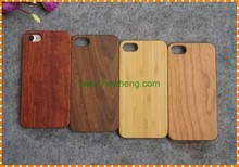 High quality Genuine Natural Wood bamboo + pc back cover phone case For iphone 7