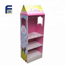 foldable totem hair accessories display stand