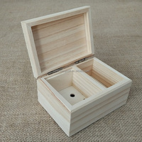Small Wooden Toy Storage Box Christmas
