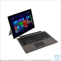 Detachable Bluetooth Keyboard Leather Case for Microsoft Surface Pro 4