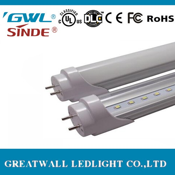 Best selling product 2017 UL DLC certificate 4ft t8 led tube