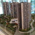 Building model for land developer, Lighting Scale Model For Malaysia Real Estate Company