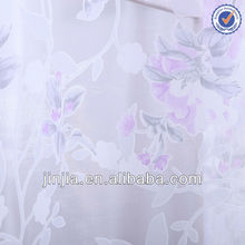 Brazil style 2013 new fashion window curtain, flocked fabric