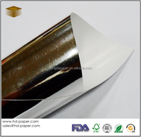Silver Metallized Paper in glossy or matt