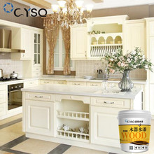 CYSQ white transparent waterproof acrylic water based wood paint for furniture