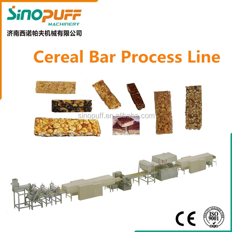 """Crunchy Nut""- Nutri Grain Bar process Line/Nutri Grain Bar production line/ Nutri Grain Bar making machine"