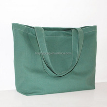 Online shopping wholesale waterproof 12oz canvas tote shopping bag with custom logo