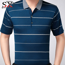 Custom Cheap POLO Neck Printed Fancy Design T-Shirts High Quality