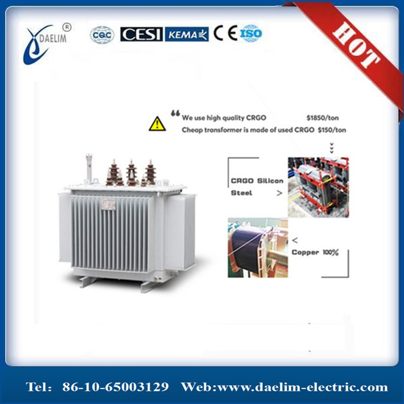 10kv 630kva 3 Phase Step Up Dry Type Transformer with Price