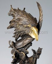 Best selling beautiful eagle bronze sculpture bsa001