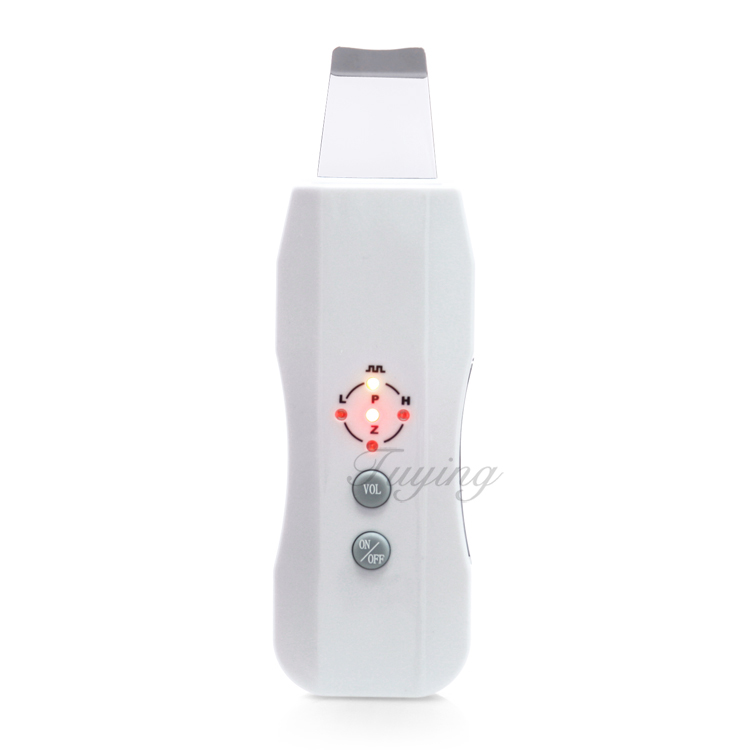 DHL free shipping Portable facial skin rejuvenation machine ultrasonic skin scrubber for home use
