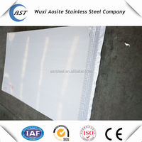 201 1mm thick stainless steel sheet/Plate with PVC covered