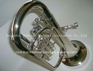 professional Nickel plated Alto Horn HHL-660