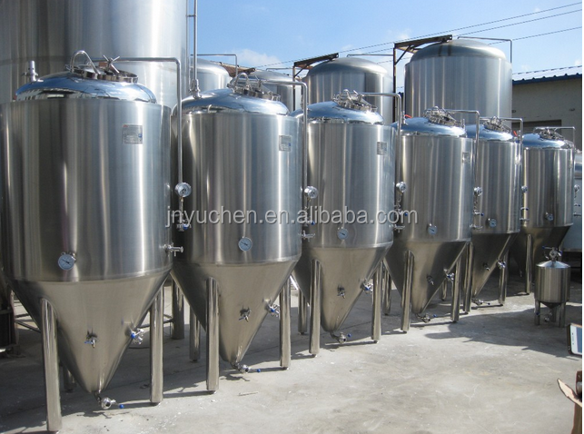 2000L fermenter, beer fermentation tank