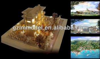 Architectural Scale Model Making / Real Estate / Beach Villas/ HO O OO N G scale