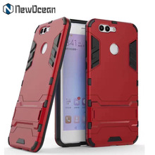 Shockproof Heavy duty PC TPU Hybrid 2 in 1 Kickstand phone cover for Huawei P10 Selfie mobile case