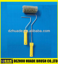 "4""x30mm Mini polyamide paint roller with 18mm nap paint roller with long handle"