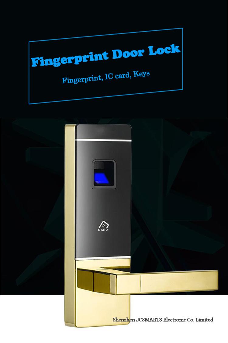 Intelligent Electronic Lock Fingerprint Cabinet Digital Door 1