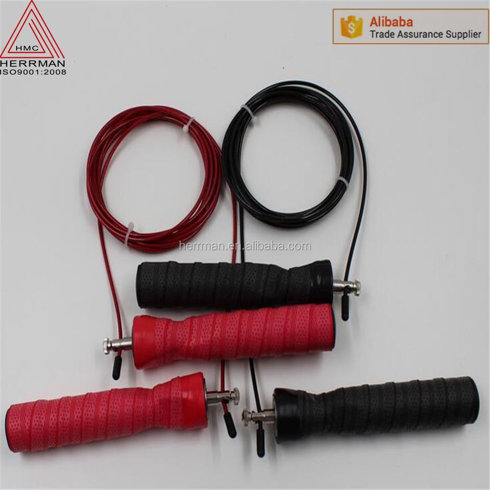 (HERRMAN) Crossfit Ball Bearing Ultra Cable Speed Jump Ropes