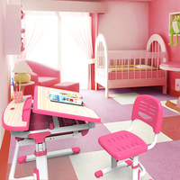 Modern wood kids bedroom furniture set C304