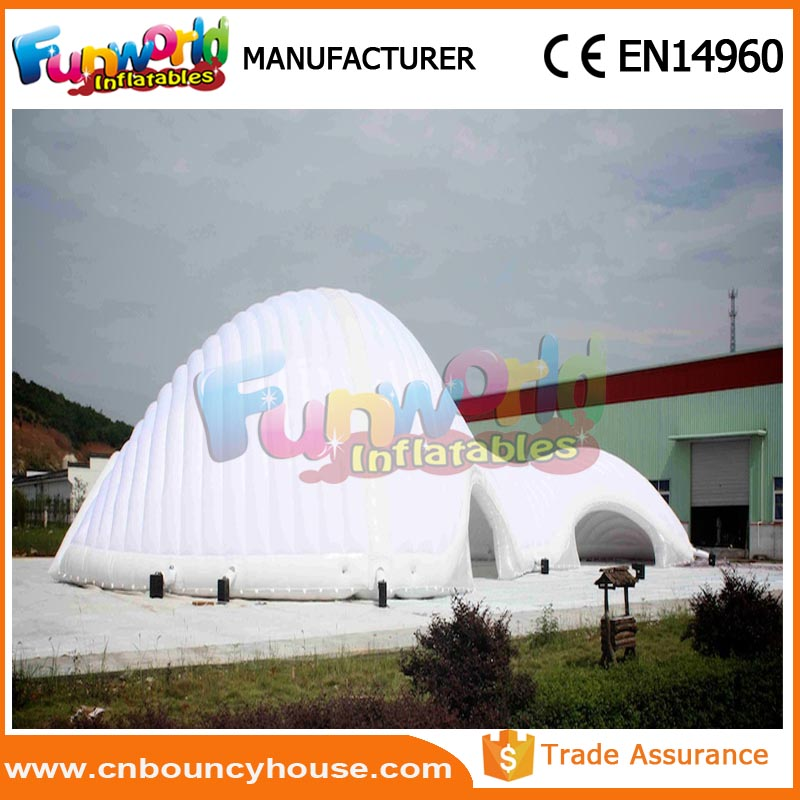 Inflatables bubble tent clear tent Inflatable Pavilions