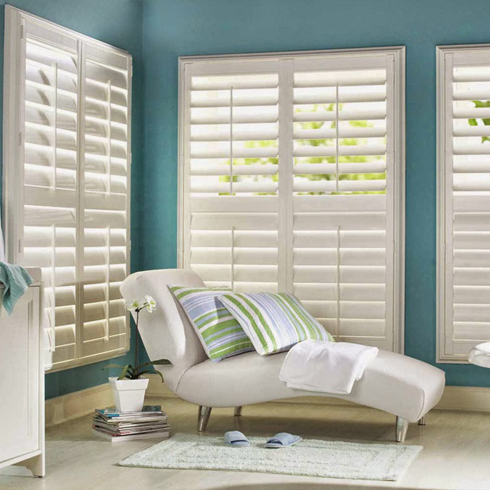 USA hot sale high quality red cedar plantation shutters vertical shutters from China