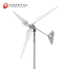 small mini power hydro turbine wind generator 1KW horizontal axis
