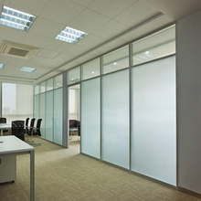 Tempered Interior Frosted Glass Door with CCC and ISO Certificate