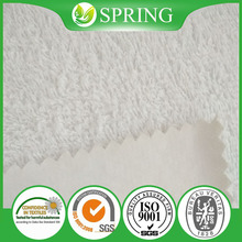 Alibaba China Raw Materials Solid Color Cotton Terry Textile Roll for Mattress Covers