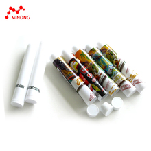 Different kinds of printing plastic cigar tube