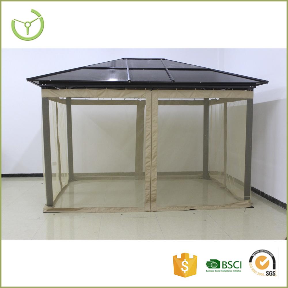 strong winds gazebo pvc roof gazebo deluxe aluminum gazebo. Black Bedroom Furniture Sets. Home Design Ideas
