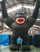 Hot sale inflatable chimpanzee model,giant inflatable chimpanzee,inflatable replicas chimpanzee