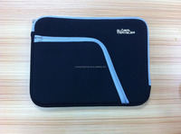 "Soft neoprene laptop sleeves with zipper ang pocket for Ipad air,laptop case/cover bag for 9"" 10"" 11"""