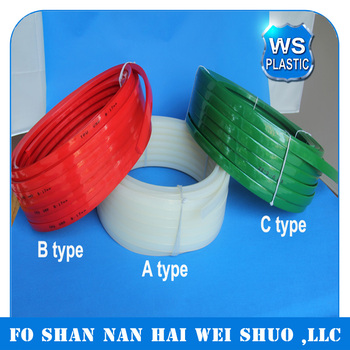 Polyurethane belt in A B C type