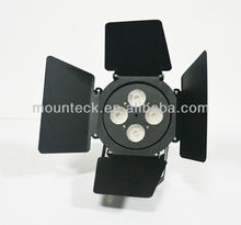 stage light 2040lm 24w dmx AC220-240V led barn door pinspot rgbw 4 in 1