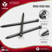 New design dome head nails polished common brad nail with high quality