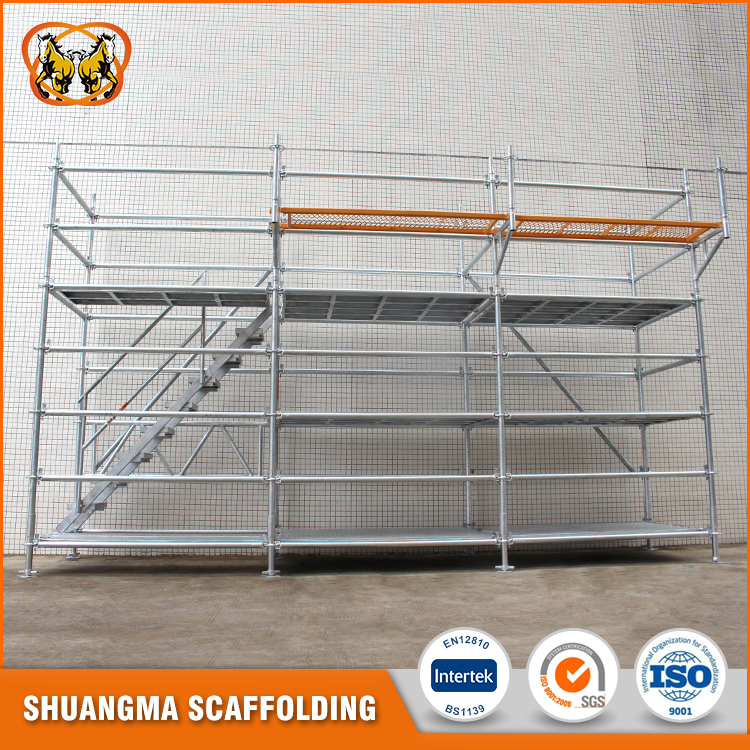 Guangzhou Steel Ringlock Type Of Scaffolding