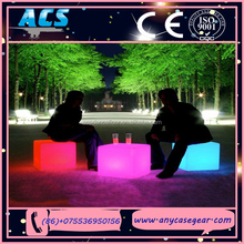ACS Any Size Decoration Remote Control Outdoor RGB Color Change led cube