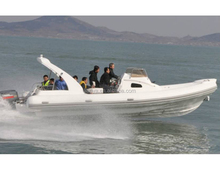 Liya 8.3m china large rib boat speed boat with cabin yacht