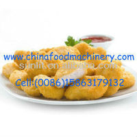 Hot Sale Halal Chicken Nuggets Making Machine