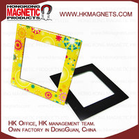 High Quality OEM Glossy Epoxy Promotional Photo Frame Fridge Magnet