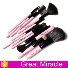hot sale 12pcs face cleaning brush make up brush pen set