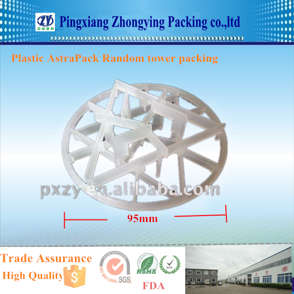 High Performance Random Plastic Packing Plastic astraPAK for scrubber