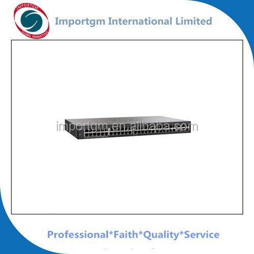 Small Business SG 300-52P 52-port Gigabit PoE Managed Switch SG300-52P-K9