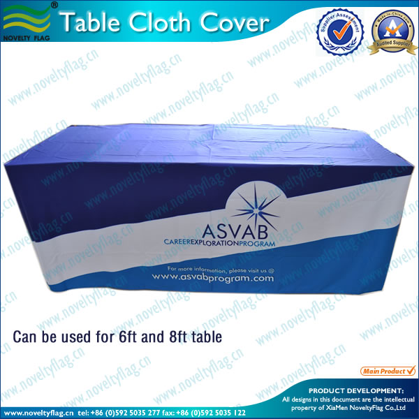 fancy wedding table cloth for decoration