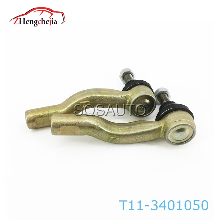 T11-3401060 Auto Steering System Auto Ball Joint Tie Rod End  For Chery Tiggo