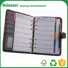 Organizer/Planner Type and Organizer/Planner Usage day planner printing