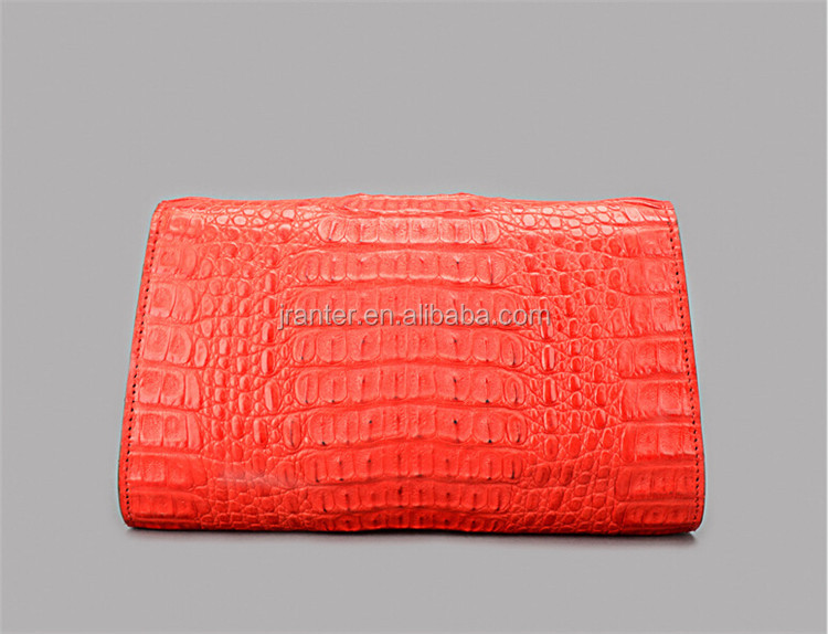 100% genuine leather crocodile women clutch bag evening bags party handbags