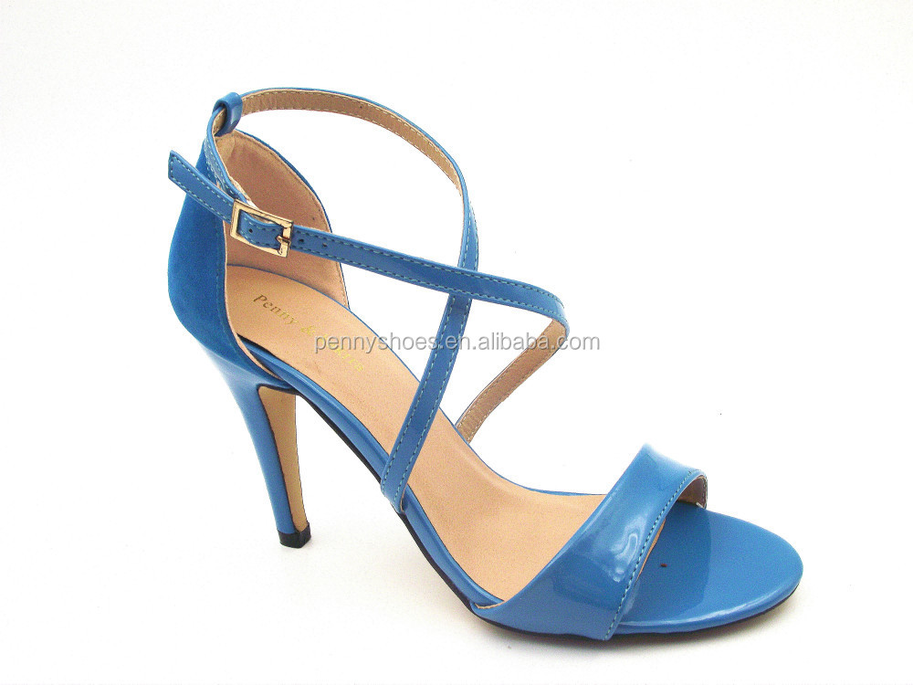 wholesale price sex high heel ankle strap classic women heel sandals